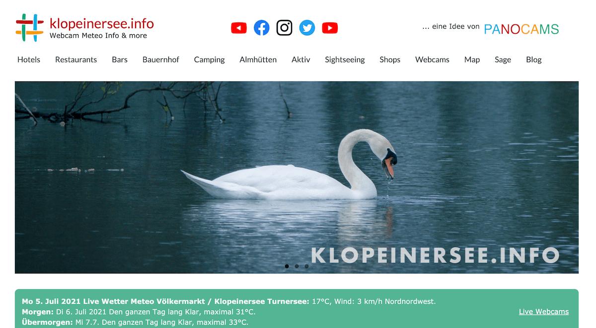 www.klopeinersee.info